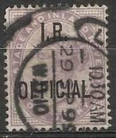 Gran Bretagna - 1882-1901 Stamps Of Queen Victoria - I.R. Official - SG ???? - Servizio