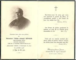 Image-souvenir De Monsieur L'Abbé Joseph DEVAUD, Estavayer-le-Lac - Images Religieuses