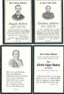 2 Andenkenbilder Egger-Andrey, Von Tasberg - Vieux Papiers