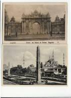 DB469-TURKEY AK ISTANBUL-TOR DOLMAS Palast+Moschee Sultan AHMED - Türkei