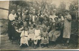 A Situer : Photo  Fête De Famille - Cartes Postales