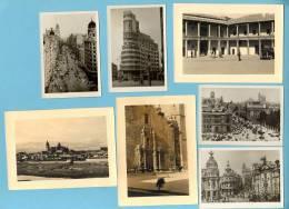 Serie De 6 FOTOS SALAMANCA + MADRID Cinema Capitol. Lot 5 Vintage Photos Spain - Madrid
