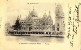 Exhibitions  Exposition Internationale   PARIS  1900.   La Pavillon  Italien - Exhibitions