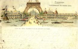 Exhibitions  Exposition Internationale   PARIS  1900.  Litho - Exhibitions