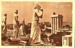 Exhibitions  Exposition Internationale   PARIS  1937.   Pavillon De L 'Italie - Exhibitions