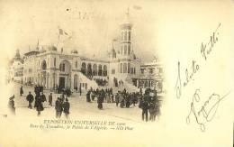 Exhibitions  Exposition Internationale   PARIS  1900.   Le Palais De L' Algerie - Exhibitions