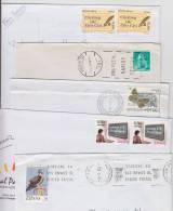= Lot De 5 Enveloppes Avec Timbres Différents D'Espagne, Oblitérations 1990 à 2006 - 1931-Heute: 2. Rep. - ... Juan Carlos I
