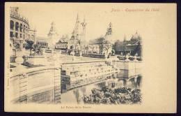 Exhibitions  Exposition Internationale   PARIS  1900.   Le Palais De La Russie - Exhibitions