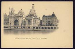 Exhibitions  Exposition Internationale   PARIS  1900.   Pavillons De La Turquie , Etats - Unis , Autriche - Exhibitions