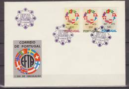 Portugal, 1967, Europe, EFTA, FDC - Idee Europee