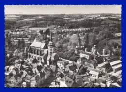TOUCY. Vue Aérienne Sur L´Eglise. (C.P.S.M.) - Toucy