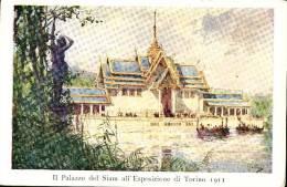Exhibitions  Exposition Internationale  TORINO       1911.  SIAM  Pavillon - Exhibitions