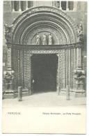Italy, Perugia, Palazzo Municipale, La Porta Principale,  Early 1900s Unused Postcard [11071] - Perugia