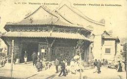 Exhibitions  Exposition Internationale  MARSEILLE     Coloniale  - Pavillon De Cochinchine  1906 - Exhibitions