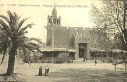 Exhibitions  Exposition Internationale  MARSEILLE     Coloniale  - Pavillon De Cote Droit - Exhibitions