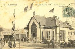 Exhibitions  Exposition Internationale  MARSEILLE     Coloniale  - Pavillon De L ' Indo Chine  1906 - Exhibitions