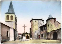 Aurec Sur Loire - L'église Et Le Château - France