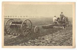 D9550 -  Tracteur Agricole - Le Hersage  * FIAT* - Tracteurs