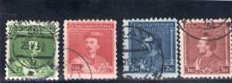 TCHECOSLOVAQUIE 1932 O - Usados