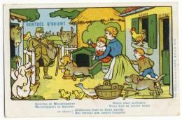 RABIER  - Rentrée  D'orient - Quinine Et Moustiquaire. Carte Rare. - Rabier, B.