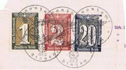 """Allemagne:lettres Et Documents.""""uhrkunde""""binge N - Alemania"""