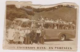 PHOTO  MON EXCURSION DANS LES PYRENEES - Personas Anónimos