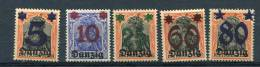 Poland/Danzig  1920 Mi  16-0 Overprint  MNH/MH - 1919-1939 Republic