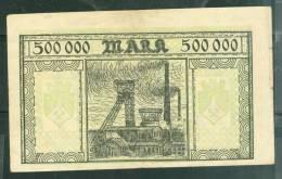 Rare Billet De 500 000 Mark , ( Jamais Proposé Sur Delcampe)  - Phi131 - 1918-1933: Weimarer Republik