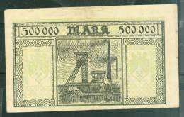 Rare Billet De 500 000 Mark , ( Jamais Proposé Sur Delcampe)  - Phi131 - [ 3] 1918-1933 : República De Weimar