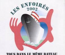 """Les Enfoirés  """"  Tous Dans Le Même Bateau  """" - Sin Clasificación"""