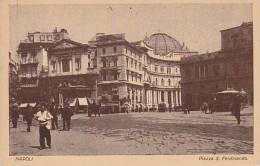 Italy Napoli Piazza S Ferdinando