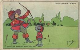 CPA Fantasie : Boogschieten - Tir A L'ar   (  John Hassall )    1904 - Non Classés