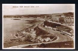 RB 882 - 1939 Real Photo Postcard - Douglas From Onchan Head Isle Of Man - Isle Of Man