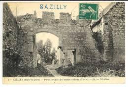 SAZILLY - Porte Du Chateau - France