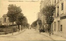 N°22290 -cpa Champigny Sur Marne -avenue De Carnot- - Champigny Sur Marne