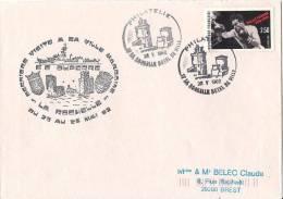 E.E DUPERRE  DERNIERE VISITE A SA VILLE MARRAINE LA ROCHELLE DE 1992 POSTE NAVALE - Poste Navale