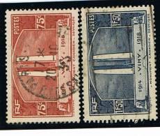 France .....   Yvert .....     316/317      ......   O  ....   Oblitere - Used Stamps