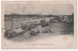 PARIS - La Seine - Quai De La Gare - Le Anse Della Senna
