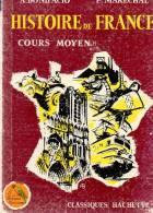 LIVRE SCOLAIRE -histoire De France Cours Moyen - 6-12 Ans