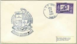 OPERATION DEEP FREEZE - USS EDISTO - AGB 2 - USS WILHOITE - 1960 - Polarmarken