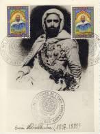 ALGERIE  ALGER  Le Retour Descendres De L'émir Abdelkader 1807/1883  1/11/66 - Beroemde Personen