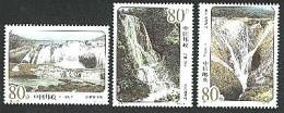 China 2001-13 Huangguoshu Waterfall Stamps Falls Rock Geology Scenery - Geology