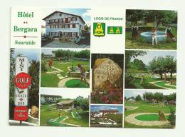 CPM SOURAÏDE(64)2000-hotel BERGARA-écrite-grand Format - Other Municipalities