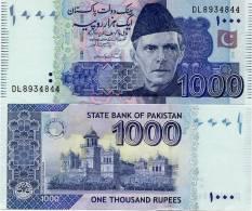 PAKISTAN        1000 Rupees        P-New         2011        UNC  [sign. Yaseen Anwar] - Pakistan