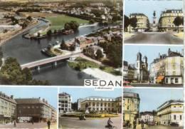 CPSM SEDAN (Ardennes) - 6 Vues - Sedan