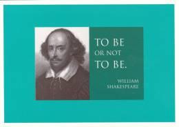 Carte , PENSÉES , Être Ou Ne Pas être , William Shakespeare - Philosophie & Pensées