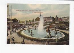 BRUXELLES / BRUSSEL / EXPO 1910 / JARDIN DE BRUXELLES - Wereldtentoonstellingen