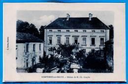 70 - DAMPIERRE Sur SALON -- Maison De M. Ch. Couyba - Lettonie
