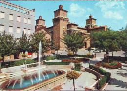 Fontana In Piazza Delle Repubblica E Castello Estense ( Colore) Ferrara - Ferrara