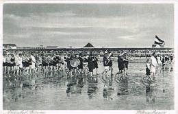 AK Büsum, Wattenpolonaise 1930 - Büsum